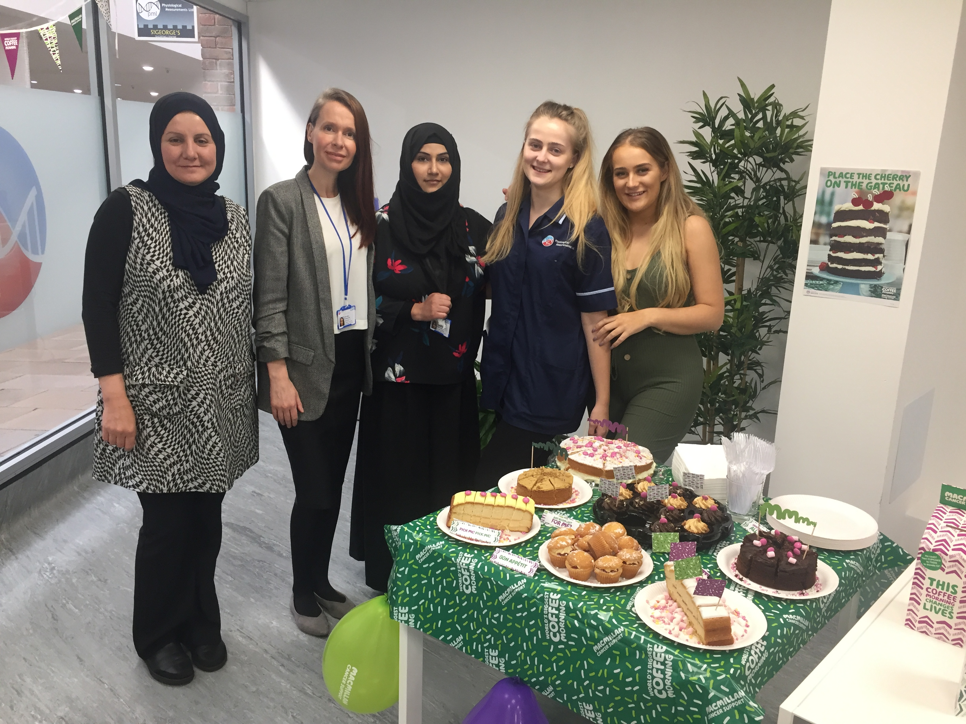 St Georges Macmillan coffee morning